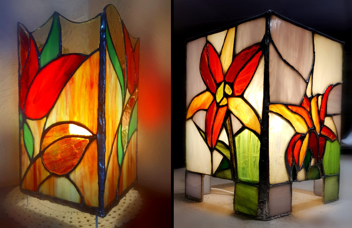 2 lampes