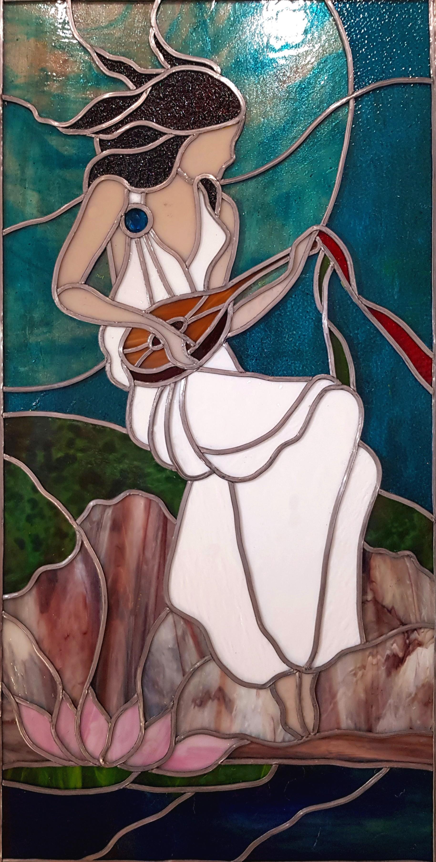 Joueuse de mandoline Marie Jo