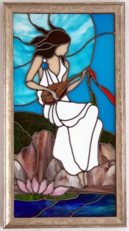 Jeune Fille à la mandoline