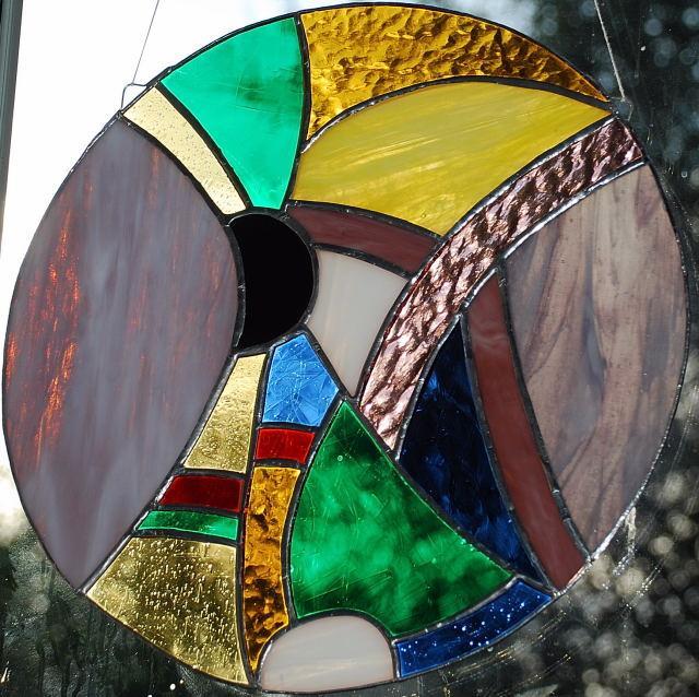 Disque multicolore