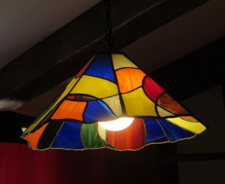 Lampe multicolore
